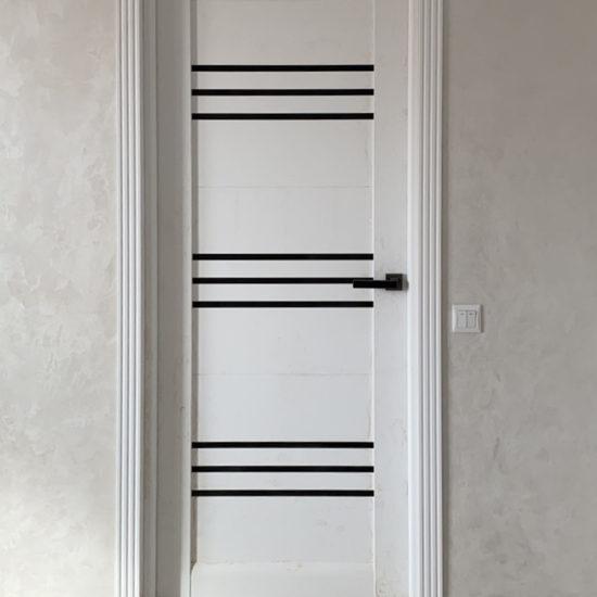 Міжкімнатні двері Sovana, дуб латте leador
