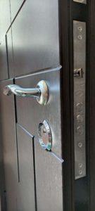 нижній замок KALE вхідні двері, венге темне, gr1 Стандарт