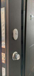 верхній замок KALE вхідні двері, венге темне, gr1 Стандарт