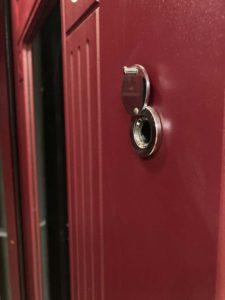 Двері вхідні металеві максимум ht77 d77 бордо пвх